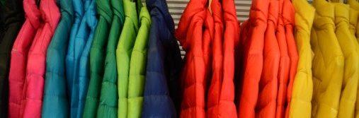 different color coats